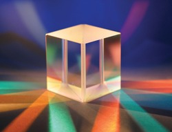 Example of beam splitter cube