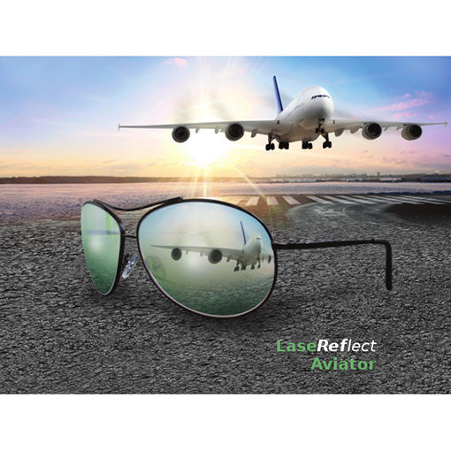 LaseReflect Aviator Glasses