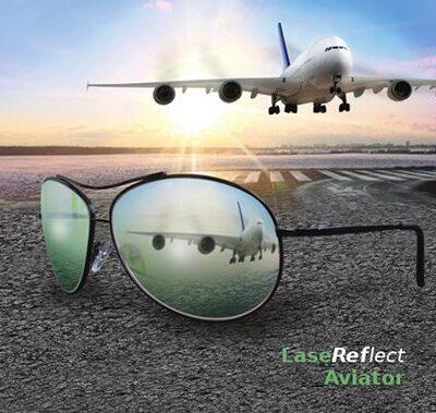 LaseReflect Aviator Glasses