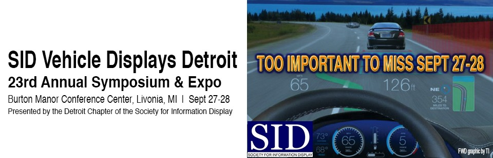 SID Vehicles Display Conference