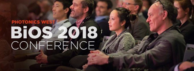 Photonics West BIOS Conference in San Francisco