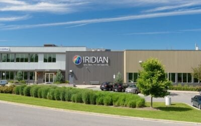 Iridian Adding New Systems to Expand Optical Filters Solutions for Customers