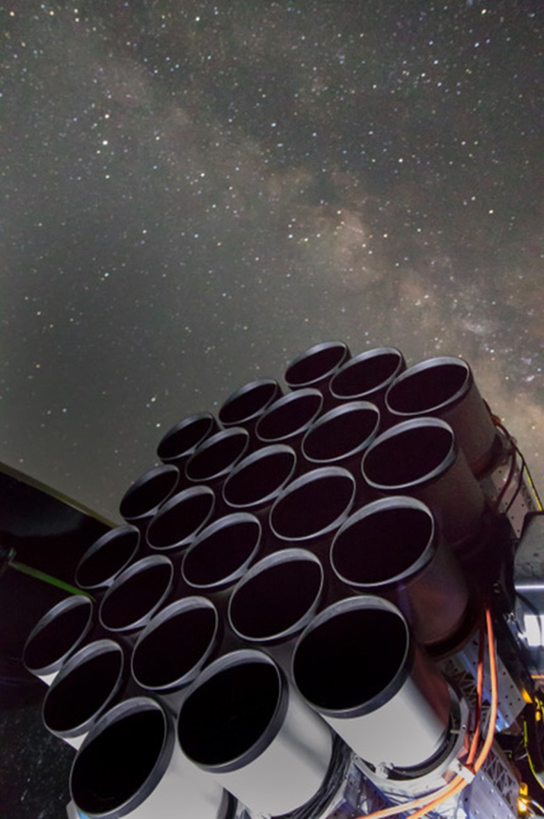 Iridian Filters Chosen for Dragonfly Telescope
